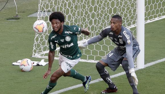 Palmeiras en la cancha