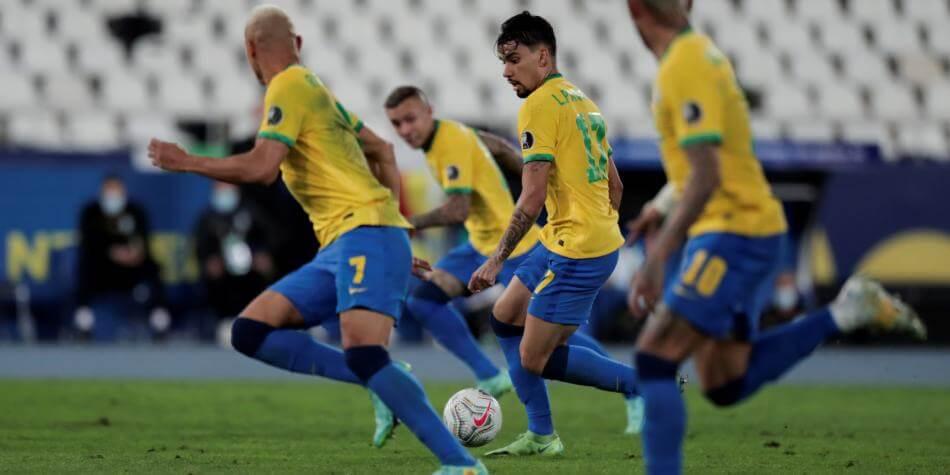Brasil en la cancha