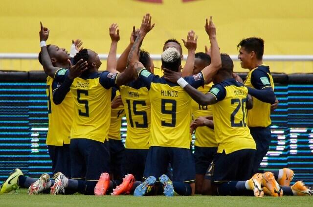 Ecuador en la cancha