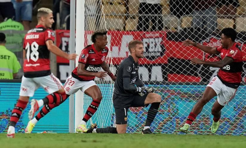 Flamengo en la cancha