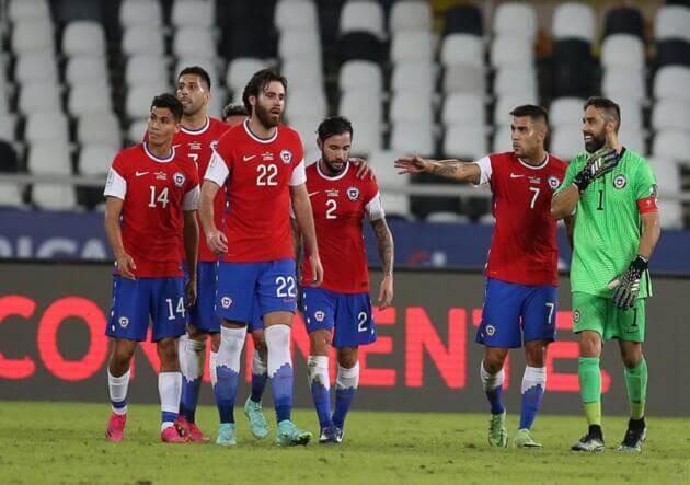 Chile en un partido